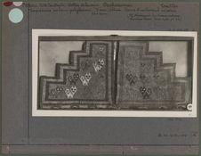Tapisserie en laine polychrome