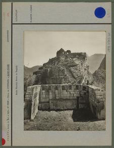 Machu- Pichu. Reste du temple.