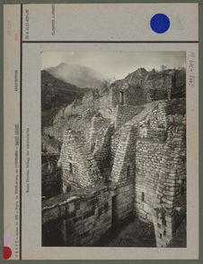 Machu-Pichu, détail des contreforts