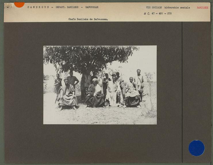 Chefs Bamileke de Bafoussam