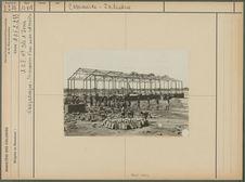 Construction d'une usine cotonière