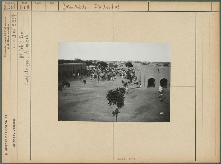 Ouagadougou. Le marché