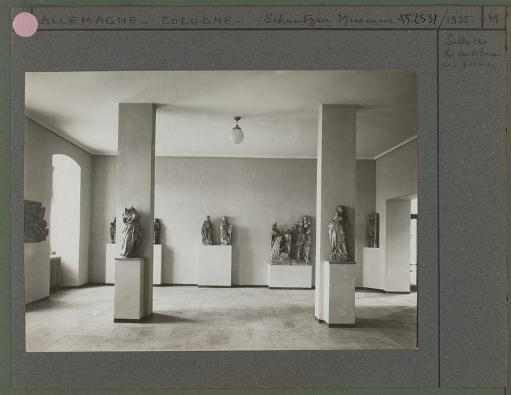 Salle de la sculpture en pierre