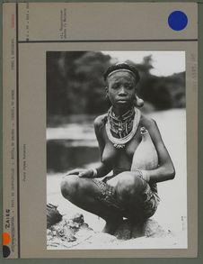 Jeune femme Bakwese