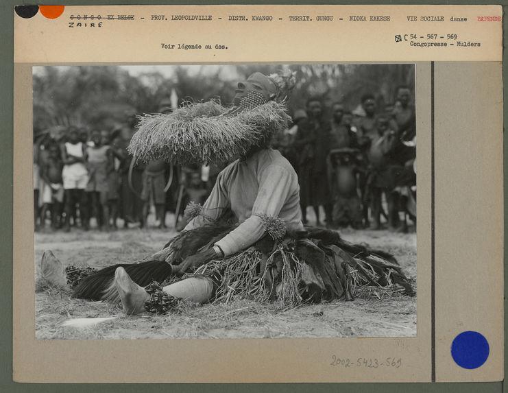 Masque de la danse Mbuya