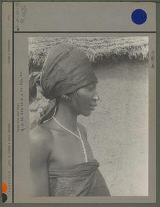 Femme d'un chef Peul