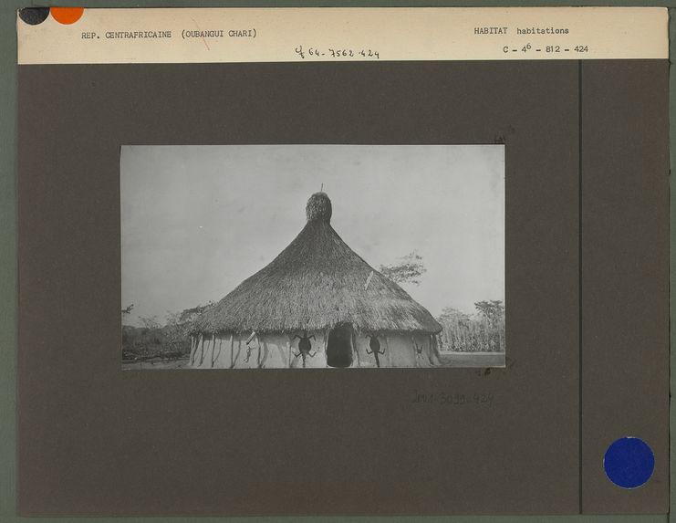 Case de l'oubangui chari