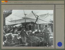 Marchand de légumes à Hwa Lai Hsien