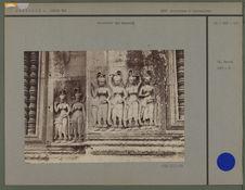 Bas-relief des Apsaras