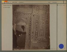 Briques émaillées en mosaïque de Chah Zindeh.