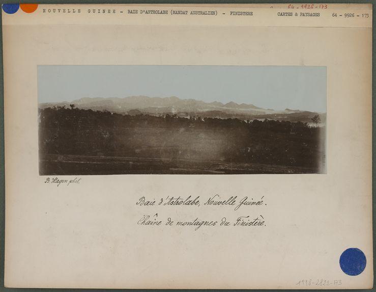 Chaîne de montagnes du Finistère