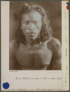 Homme Batak, 25 ans, tribu de Foba
