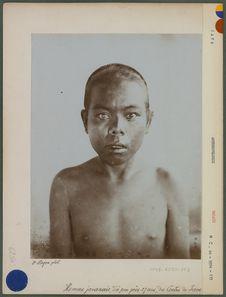 Homme javanais d'à peu près 27 ans