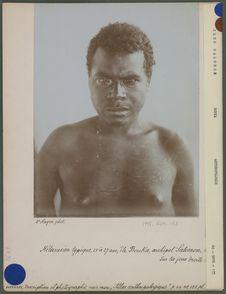 Mélanésien typique 25 à 27 ans