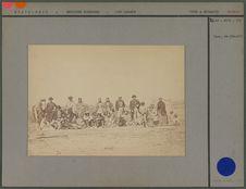 Groupe d'indiens au Fort Laramie