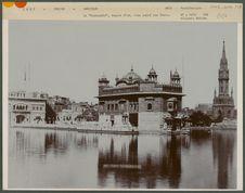 """Le """"Harmandir"""", temple d'or, lieu sacré des Sikhs"""