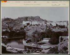Vue générale du lac et du palais, Amber