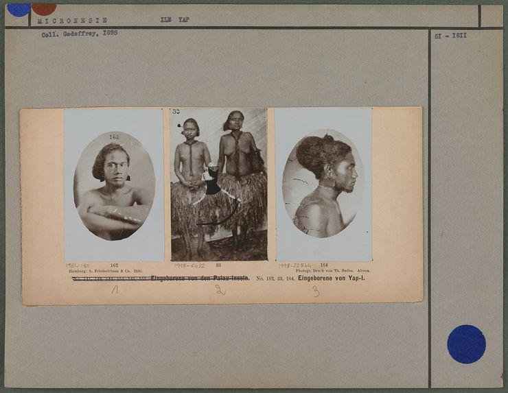 Eingeborene von Yap-I.