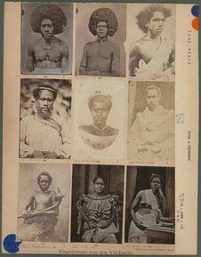 Eingeborene von den Viti-Inseln