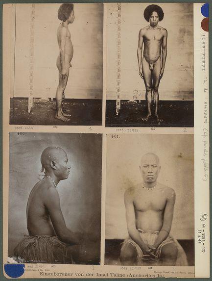 Eingeborener von der Insel Talíne