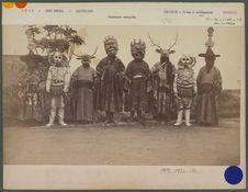 Danseurs masqués