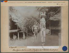 Silum, figure en bois d'un ancêtre à Bogadjim