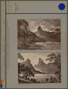 Paysages de l'ile de Moorea