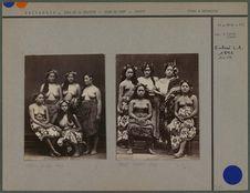 Groupes de tahitiennes