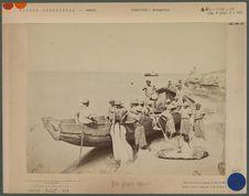 Bateliers Boliviens dans le port