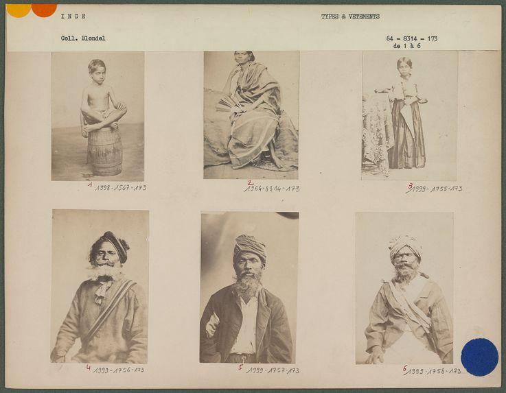 Type de l'Inde, engagé à la Réunion