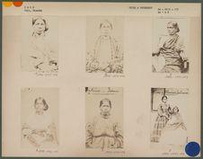 Femme hindoue, engagée à la Réunion