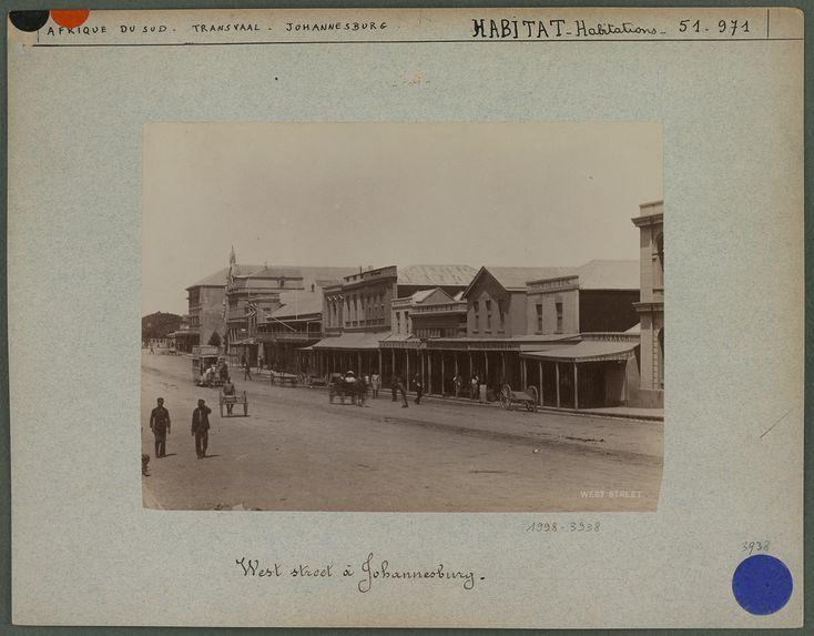 West street, rue principale à Johannesburg