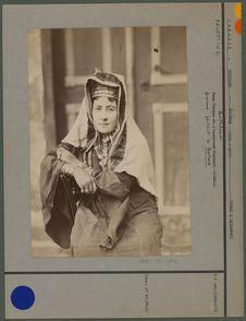 Dame turque de l'ancienne Scutari (1883)