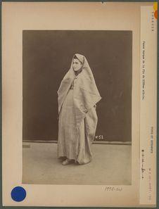 Femme turque de la fin du XIX° siecle