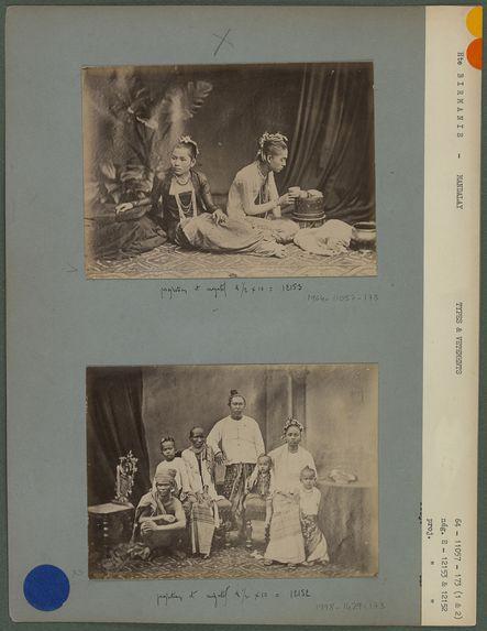 Princesses Birmanes à Mandalay