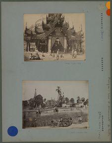 Entrée du grand temple de Rangoon