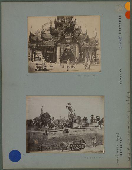 Grand temple de Rangoon (enceinte fortifiée).