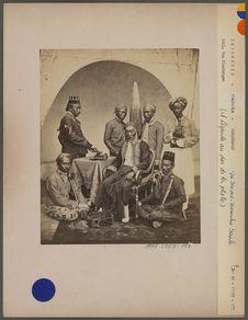 Le sultan et sa suite