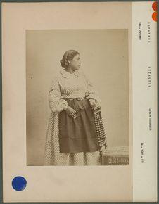 Marica, jeune indienne de Quayaquil, Equateur