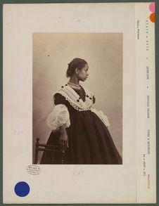 Maria Lassus, 19 ans, mulâtresse
