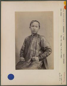 Tran-van-Luong, 17 ans, né à Saïgon