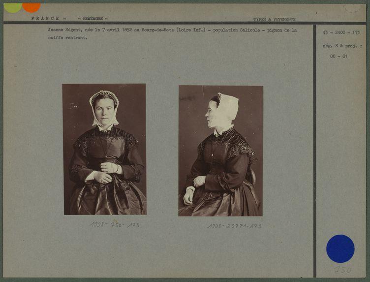 Jeanne Régent , née le 7 avril 1852