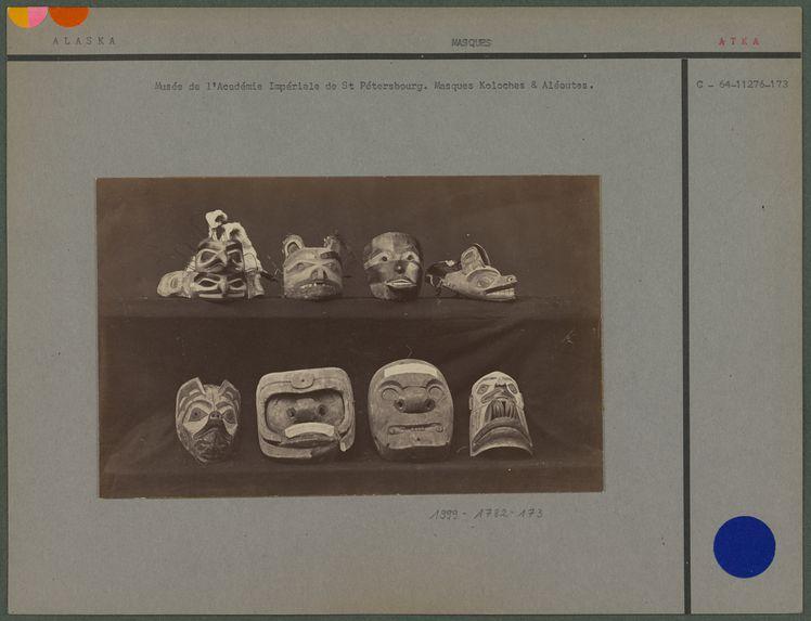 Masques Koloches et Aléoutes