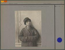 Jeune juif de Tachkent portant le bonnet bordé de fourrure