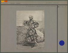 """Le """"Starchi-Aksakal"""" de Samarkand en grand costume de cérémonie"""