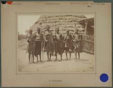 Hommes de la tribu Dchafalou