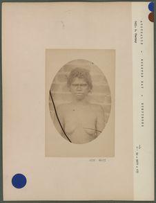 Jeune fille Australienne de Humpybong, Moreton-bay