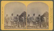 Apache Braves, ready for the trail, Arizona