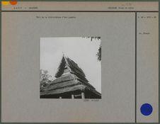 Toit de la bibliothèque de la pagode