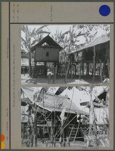 Maisons de bois du village